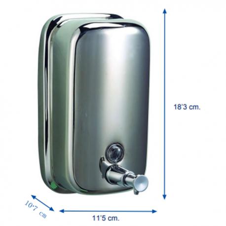 DOSIFICADOR JABON INOX 800 ml