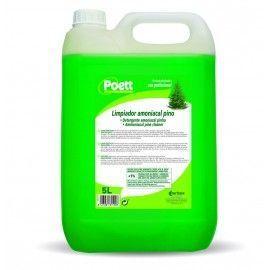 Limpiador amoniacal poett 5 litros