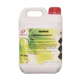 BIOMAR Gel Hidroalcohólico Desinfectante de Manos G/5Lt