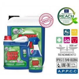 BACTER QUAT Limpiador bactericida ph neutro