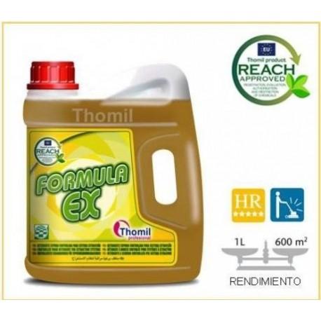 FORMULA EX Detergente espuma controlada para sistema extracción