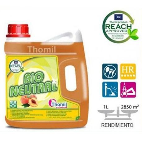 BIO NEUTRAL PEACH Fregasuelos neutro aroma melocotón
