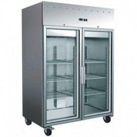 Armario GN2/1 refrigeracion 2 puertas cristal 'PEKIN'
