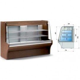 Vitrina Refrigerada Cerrada Exterior Madera 'CORDOBA'